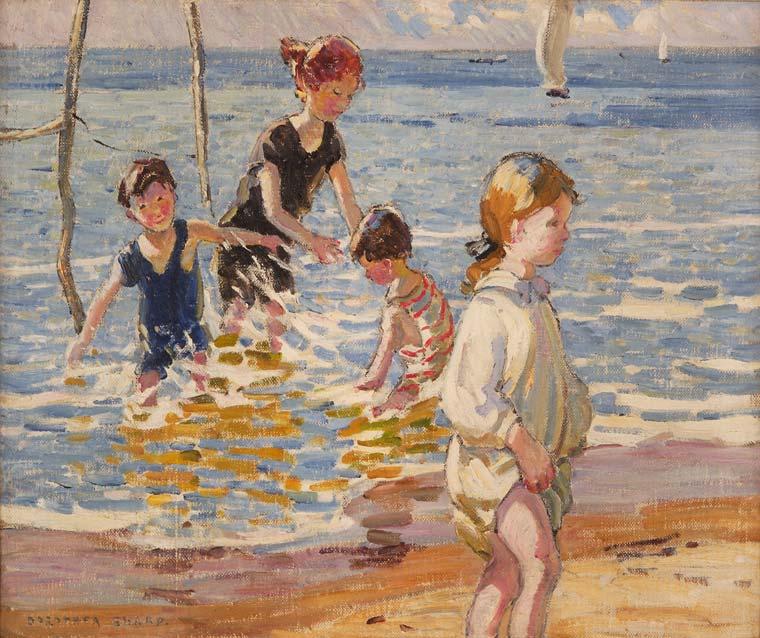 Sharp, Dorothea - Children Paddling - BUYGM.0515.1941