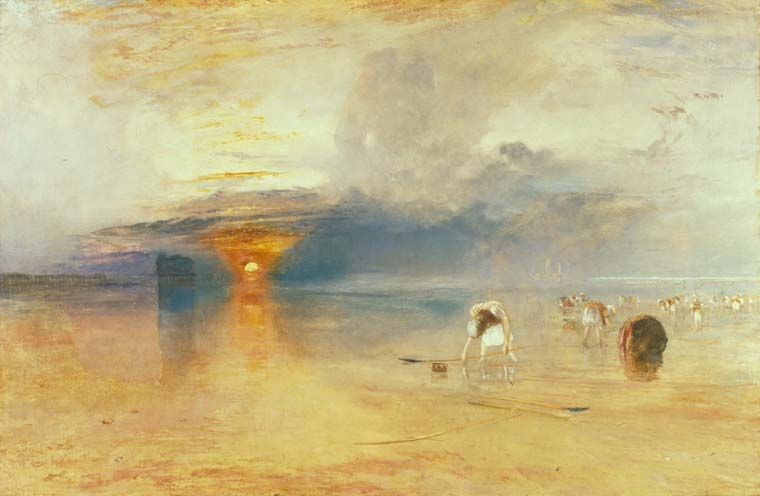 Turner, J.M.W. - Calais Sands at Low Water- Poissards Collecting Bait - BUYGM.0114.1901